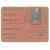 Ausweis von Johanne van Soest zum temporären Aufenthalt im Kontrollgebiet1918